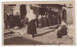 Photo Originale Guerre D'Orient GREECE GRECE FLORINA Queue Boulangerie - Guerre, Militaire