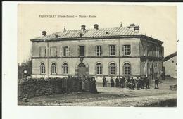70 - Haute Saone - Equevilley - Mairie - Ecoles - Animée - - Autres Communes
