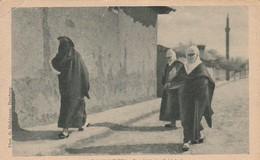 AK Balkan Typen - Drei Türkische Schönheiten - Feldpost Kgl. Preuss. Armee-Fernsprech-Abteilung 22 - 1917 (45609) - Afrika