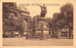 Gent Gand   Standbeeld Van Jacob Van Artevelde  Vooruit Legerpost Militaire Dienst   Barry 3502 - Gent