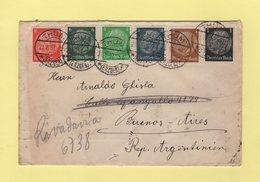 Allemagne - Thum Destination Buenos Aires Argentine - 21-6-1937 - Allemagne