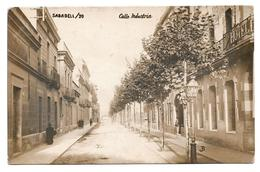 SABADELL - Calle Industria - Foto Real Edit. JB - Enviada En 1912 - Other