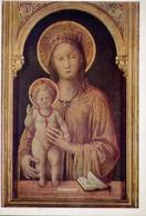Galleria Dell'accademia Tadini - Lovre - Jacopo Bellini - Madonna Col Bambino - Formato Grande Non Viaggiata – E 14 - Quadri, Vetrate E Statue