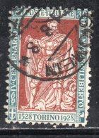 Rox 1928 Regno D'Italia Filiberto 30c  Usato - 1900-44 Victor Emmanuel III