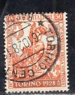 Rox 1928 Regno D'Italia Filiberto 50c  Usato - Oblitérés