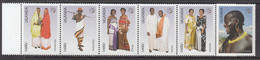 2007 Uganda Costumes UPU Congress Nairobi Complete Set  Of 6 MNH - Uganda (1962-...)