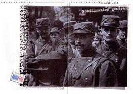 """✅ """" MOBILISATION GENERALE """" Sur Document Philatélique Officiel 4 Pages De 2014 N°YT 4889. DPO - WW1 (I Guerra Mundial)"""