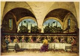 Firenze - Museo S.marco - Ghirlandaio Domenico - L'ultima Cena - Formato Grande Viaggiata – E 14 - Quadri, Vetrate E Statue