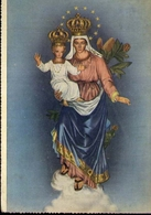 Imbersago - Como - Santuario Della B.v.del Bosco - Formato Grande Viaggiata - E 14 - Vergine Maria E Madonne