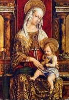 Madonna Col Bambino - Formato Grande Viaggiata – E 14 - Vergine Maria E Madonne