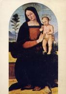 Matelica  Museo Per Santi - Madonna Col Bambino - Formato Grande Viaggiata – E 14 - Vergine Maria E Madonne