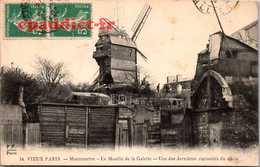 B001N6025 34. Vieux Paris Montmartre Le Moulin De La Galette Une Des Dernières Curiosités Du Siècle - France