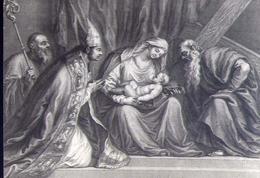 Pieve Di Cadore  Quadro Del Tiziano - Formato Grande Viaggiata – E 14 - Vergine Maria E Madonne