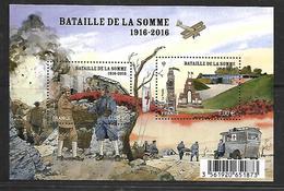 32 France F5075 Bataille De La Somme N++ - Blocs & Feuillets
