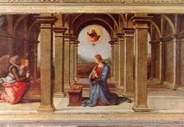 Urbino - Annunciazione - Raffaelo Sanzio - Formato Grande Non Viaggiata – E 14 - Vergine Maria E Madonne