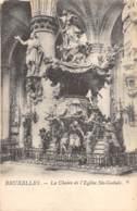 BRUXELLES - La Chaire De L'Eglise Ste-Gudule - Monuments, édifices