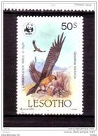 ##33, Lesotho, Wwf, W.w.f., Rapace, Oiseau, Bird, Montagne, Mountain - Lesotho (1966-...)
