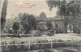 32 Barbotan Les Thermes - La Porte Et L 'Eglise - Barbotan