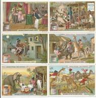 Chromo Liebig Série De Complète De 6 Chromos S_0845 Scènes D'Afrique 1906 (Bon état) - Liebig