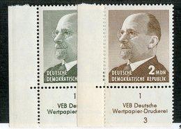 DDR 1017 -1965 Mi.#1087/88DV**postfrisch (cat. 6.00€) - Ungebraucht