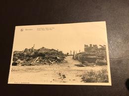 Komen - Waasten - Warneton - Grand'Place , Hôtel De Ville - Ruines - Guerre - 1914-1918 - Ed. Vandelannoote Comines - Comines-Warneton - Komen-Waasten