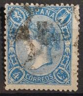 SPAIN 1865 - Canceled - Sc# 75 - 4c - Oblitérés