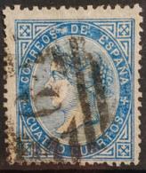 SPAIN 1867/68 - Canceled - Sc# 89 - 4c - Oblitérés