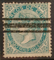 SPAIN 1868/69 - Canceled - Sc# 101 - 200M - Oblitérés