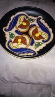 Vittorio Bonuzzi D 1275 V .B. Plat En Céramique  Art Déco 1930 - Ceramics & Pottery