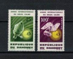 DAHOMEY , 1964 , ** , MNH , Postfrisch , Mi.Nr. 244 - 245 - Benin – Dahomey (1960-...)
