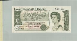 Billet De Banque Sainte - Hélène - 1 Pound - (1981) - Government Of St. Helena  DEC 2019 Gerar - Isola Sant'Elena