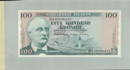 Billet De Banque Sedlabanki  Island Iceland, 100 Kronur, 1961 DEC 2019 Gerar - Islande