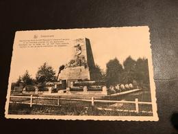 Steenstraete (Bikschote (Langemark-Poelkapelle) - Merkem - Ieper ) Monument Aux Morts - Langemark-Poelkapelle