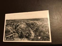Zonnebeke - Loopgraven Langs De Baan Naar Yper - Tranchees Route Ypres - 1914-1918 - Zonnebeke