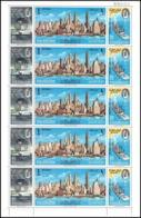 270e - Sharjah MNH ** Mi N° 87 / 89 A World Exhibition Expo 1964 Statue De La Liberté Liberty New York Pretrol - Sharjah
