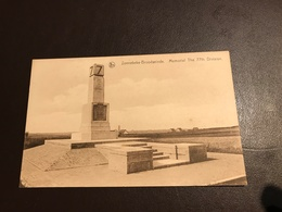 Zonnebeke - Broodseinde- Memorial The 7th Division - 1914-1918 - Zonnebeke
