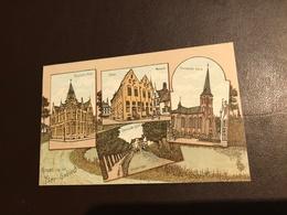 Groet Van Het Yser Gebied - Roulers Roeselare Post - Ypres Museum Ieper - Zonnebeke Kerk - Dixmude-Yser Diksmuide - Zonnebeke