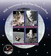 Papua New Guinea  2019  APOLLO XI  Moon Landing ,space   I201903 - Papua New Guinea