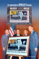 Maldives  2019    Apollo 11 Mission    ,space S201904 - Maldives (1965-...)