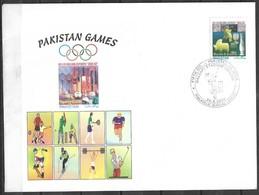 PAKISTAN SPECIAL CRICKET COVER PAKISTAN VS INDIA 5TH ODI  2004 - Pakistan