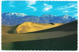 DEATH VALLEY NATIONAL MONUMENT CALIFORNIA - The Shifting Sands Of Death Valley ... - Hotels Fred Harvey DV-42 - Death Valley