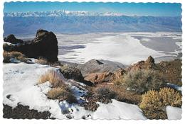 DEATH VALLEY NATIONAL MONUMENT CALIFORNIA - Dante's View Has A Panorama ... - Hotels Fred Harvey DV-80 - Death Valley