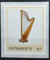 Pe598 Harfe, Harp, Harpe, Arpa, Musikinstrument, AT 2012 ** - Zonder Classificatie