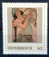 Pe632 Salome 1897, Alfons Mucha, Jugendstil, Art Nouveau, AT 2012 ** - Austria