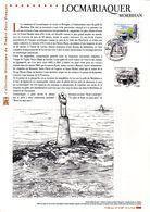 """"""" LOCMARIAQUER / MORBIHAN """" Sur Document Philatélique Officiel De 2014. N°YT 4882 DPO - 2010-...."""