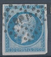 N°14 VARIETE  ET  OBLITERATION - 1853-1860 Napoléon III.
