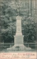 ! Alte Ansichtskarte 1903 Gruss Aus Dramburg,  Drawsko Pomorskie, Kriegerdenkmal, Pommern - Pommern