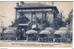 HAUTS DE SEINE ANTONY HOTEL RESTAURANT BON ACCUEIL J. MAURY PROPRIETAIRE - Antony