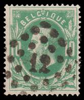 """COB 30 - Obl. Losange De Points -""""CONCOURS"""" Bureau N°12 (ANVERS) - 1869-1883 Leopold II"""