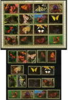 613b - Umm Al Qiwain MNH ** Mi N° 1498 / 1513 A + Bloc Papillons (moths And Butterflies Papillon) - Umm Al-Qiwain